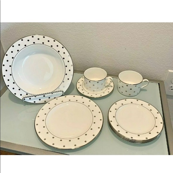 kate spade Other - kate spade LARABEE ROAD Platinum China NWT 8 Pc